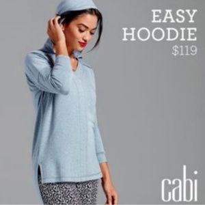 Cabi easy hoodie sweatshirt blue xs